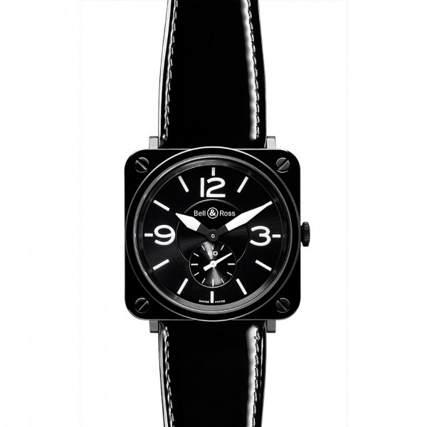 Bell & Ross watches BR-S CERAMIC BLACK DIAL