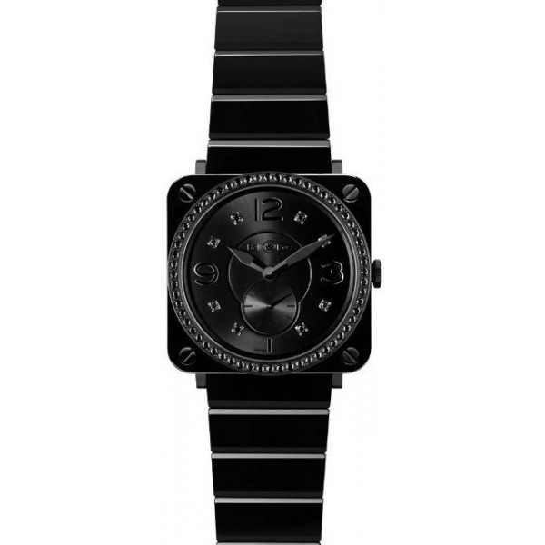 Bell & Ross watches BR-S Black Ceramic Phantom & Diamonds