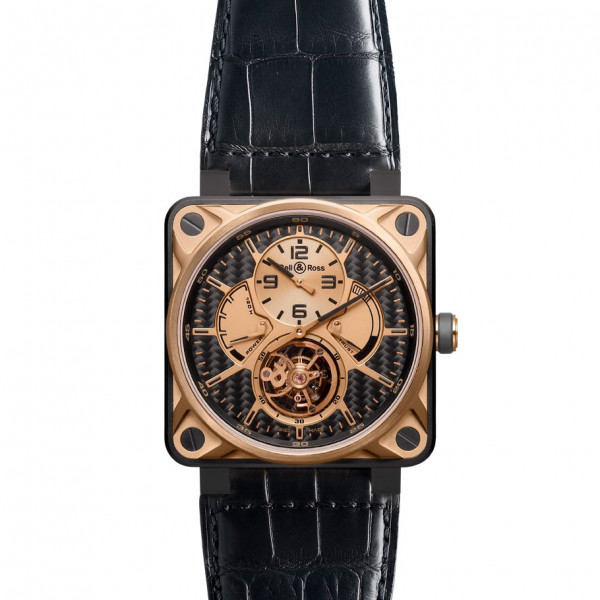 Bell & Ross watches BR 01 TOURBILLON Pink Gold & Titanium Limited edition 20