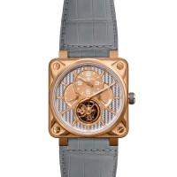 Bell & Ross watches BR 01 TOURBILLON Pink Gold Aluminium Limited edition 20