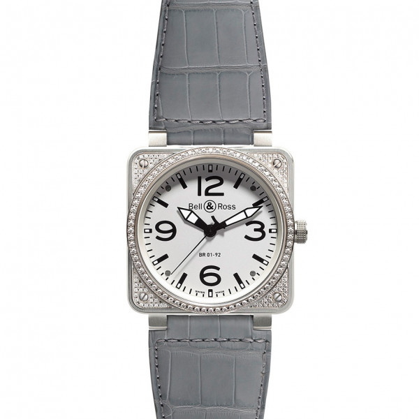 Bell & Ross watches BR 01-92 TOP DIAMON WHITE