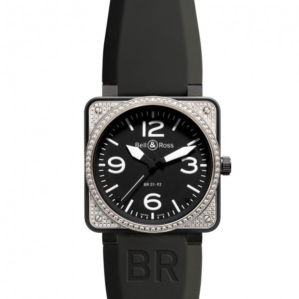 Bell & Ross watches BR 01-92 TOP DIAMOND & CARBON