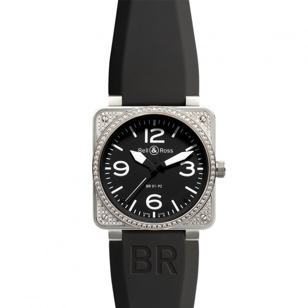 Bell & Ross watches BR 01-92 TOP DIAMOND BLACK