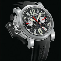 Chronofighter Oversize Stealth Gun Metal