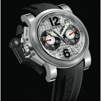 Chronofighter Oversize Stealth Silver