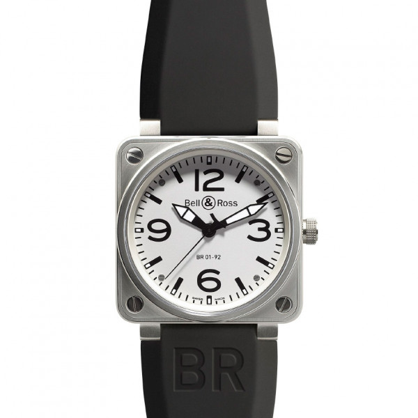 Bell & Ross watches BR 01-92 WHITE DIAL
