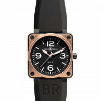 Bell & Ross watches BR 01-92 PINK GOLD & CARBON