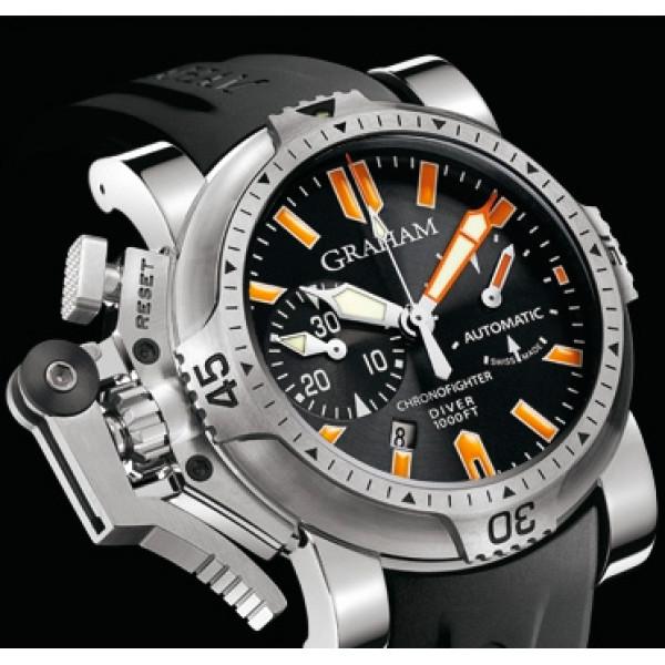 Chronofighter Oversize Diver/Date Orange Seal