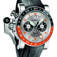 Chronofighter GMT Big Date Silver Dial
