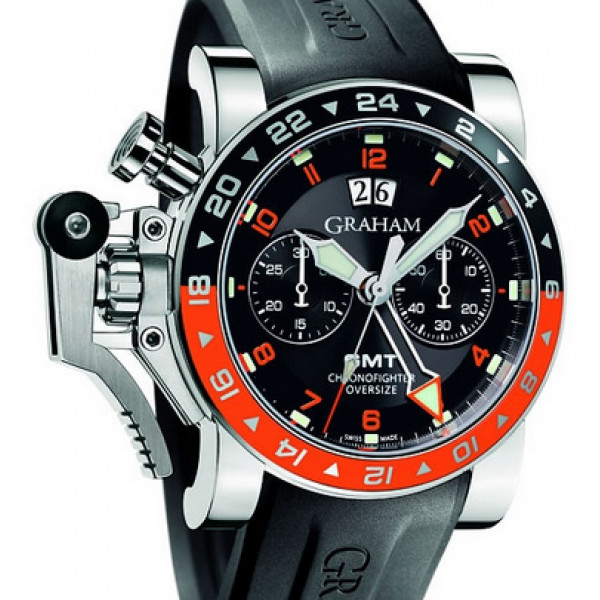 Chronofighter GMT Big Date Black Dial