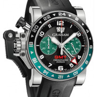 Chronofighter Oversize GMT Big Date BRG (British Racing Green)