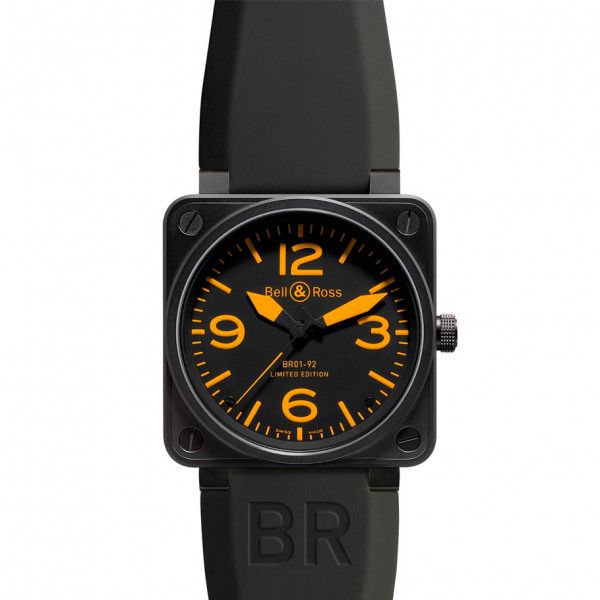 Bell & Ross watches BR 01-92 ORANGE