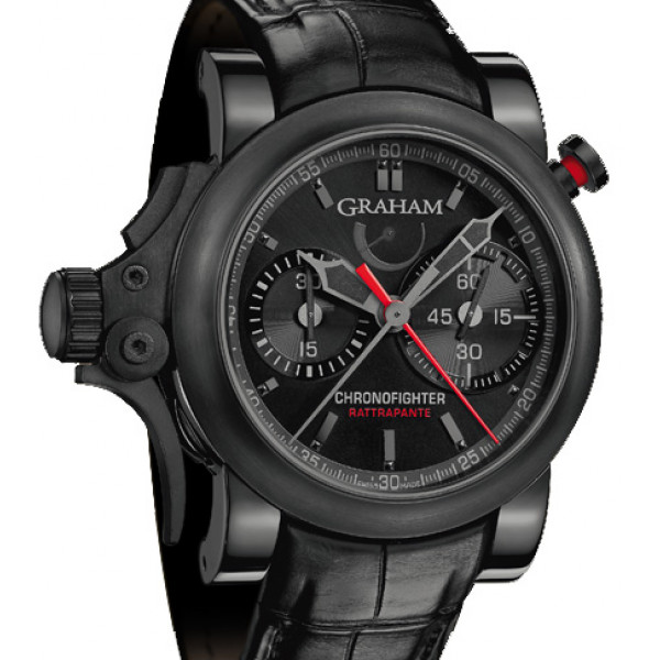 Chronofighter Trigger Back in Black Rattrapante Limited