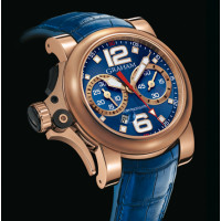 Chronofighter R.A.C Trigger red gold, Blue Rush