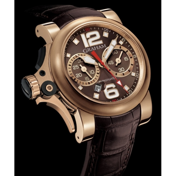 Chronofighter R.A.C Trigger red gold, Havana Rush