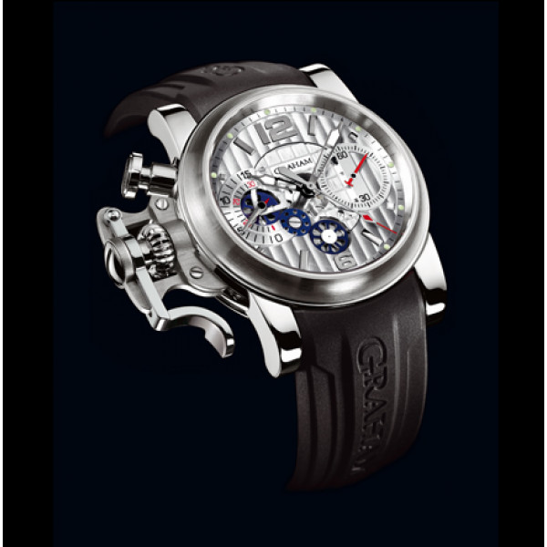 Chronofighter R.A.C. Skeleton Stainless steel Silver dial