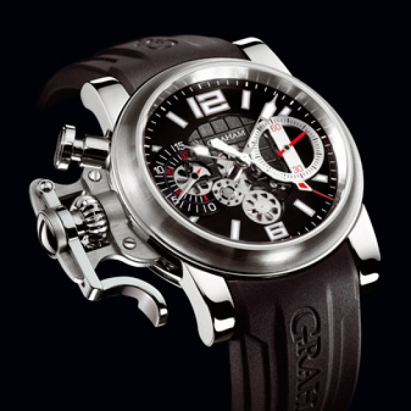 Chronofighter R.A.C. Skeleton Stainless steel Black dial