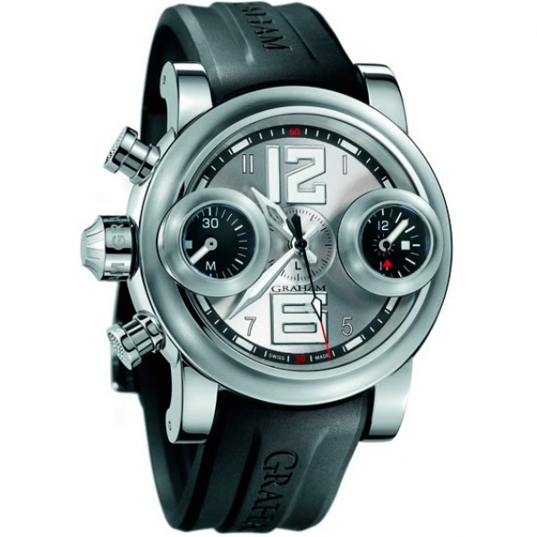 Swordfish Big 12-6 Steel with Silver dial Left Version