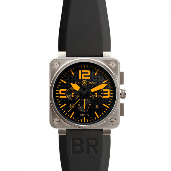 Bell & Ross watches BR 01-94 TITANIUM ORANGE