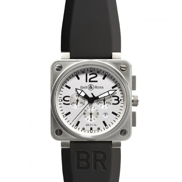 Bell & Ross watches BR 01-94 WHITE DIAL