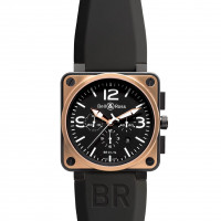 Bell & Ross watches BR 01-94 PINK GOLD & CARBON
