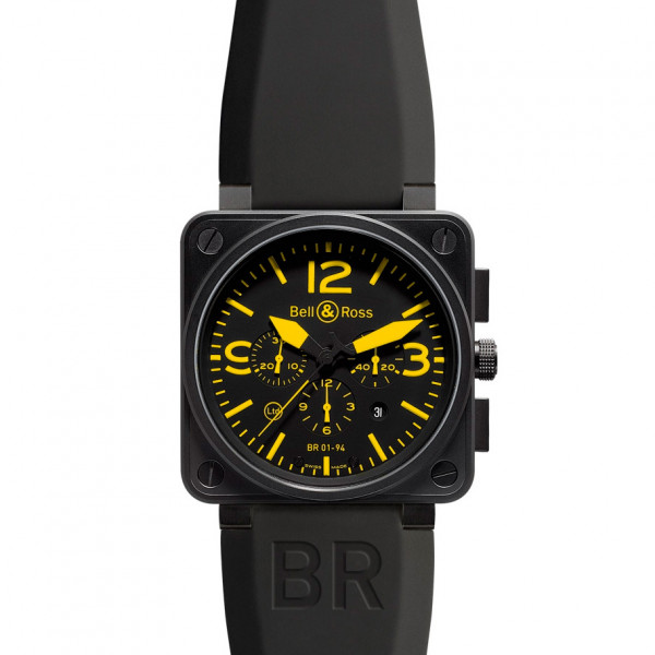 Bell & Ross watches BR 01-94 YELLOW