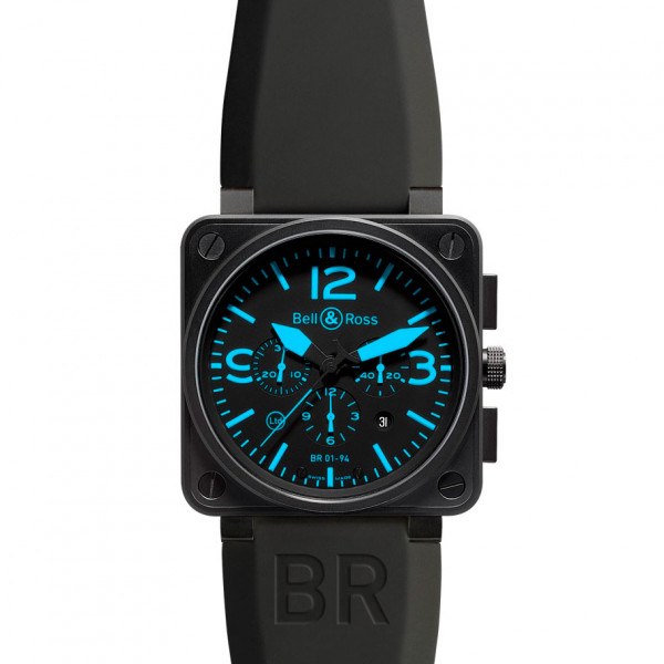 Bell & Ross watches BR 01-94 BLUE