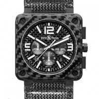 Bell & Ross watches BR 01 Carbon Fiber Chronograph limited