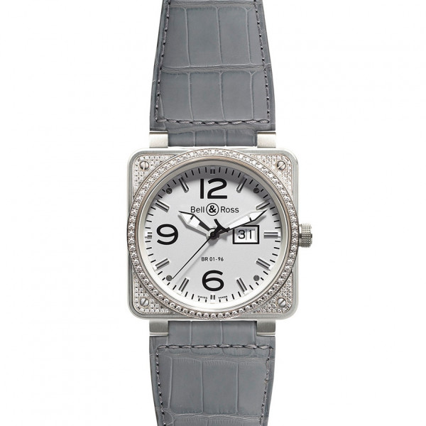 Bell & Ross watches BR 01-96 TOP DIAMOND WHITE DIAL