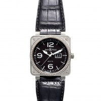 Bell & Ross watches BR 01-96 TOP DIAMOND BLACK DIAL