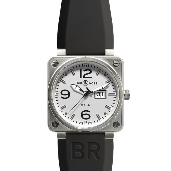 Bell & Ross watches BR 01-96 BIG DATE WHITE DIAL