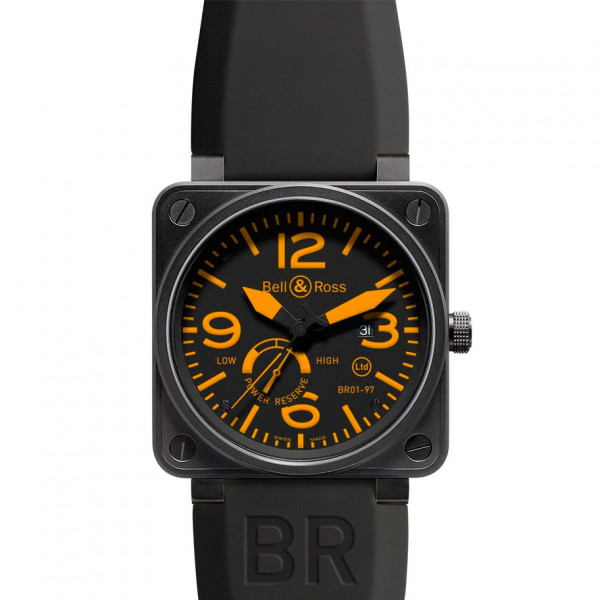 Bell & Ross watches BR 01-97 POWER RESERVE ORANGE