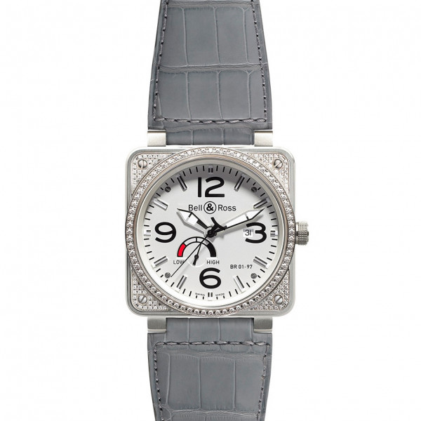Bell & Ross watches BR 01-97 TOP DIAMOND WHITE DIAL