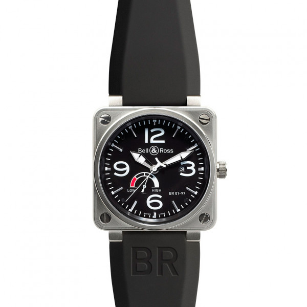 Bell & Ross watches BR 01-97 POWER RESERVE BLACK DIAL