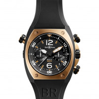 Bell & Ross watches BR 02 PINK GOLD