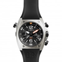 Bell & Ross watches BR 02 CHRONOGRAPH STEEL FINISH