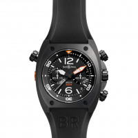 Bell & Ross watches BR 02 CHRONOGRAPH CARBON FINISH