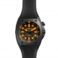 Bell & Ross watches BR 02 ORANGE