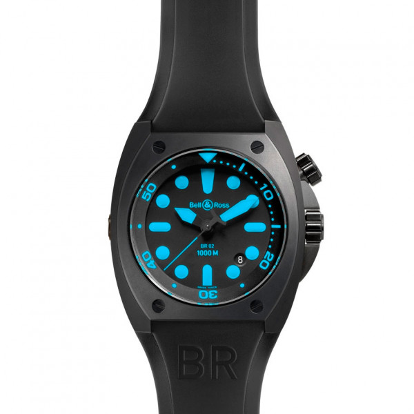Bell & Ross watches BR 02 BLUE