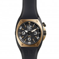 Bell & Ross watches BR 02 PINK GOLD CARBON FINISH