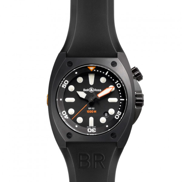 Bell & Ross watches BR 02 PRO DIAL CARBON FINISH