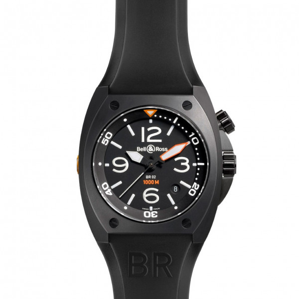 Bell & Ross watches BR 02 CARBON FINISH
