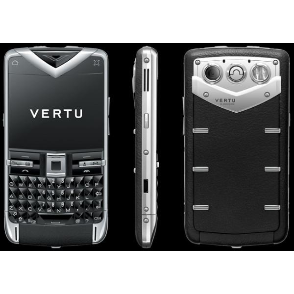 Vertu Constellation Quest Steel Sapphire Black