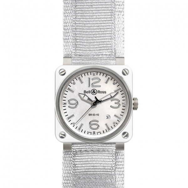 Bell & Ross watches BR 03-92 WHITE CERAMIC