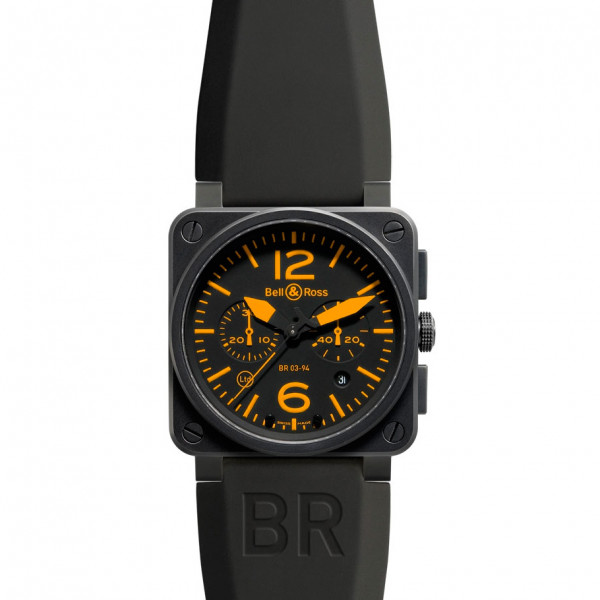 Bell & Ross watches BR 03-94 ORANGE Limited Edition