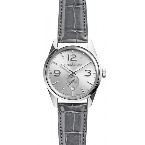 Bell & Ross watches Vintage BR 123 Officer Silver