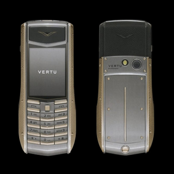 Vertu Ascent Ti Knurled Rose Gold