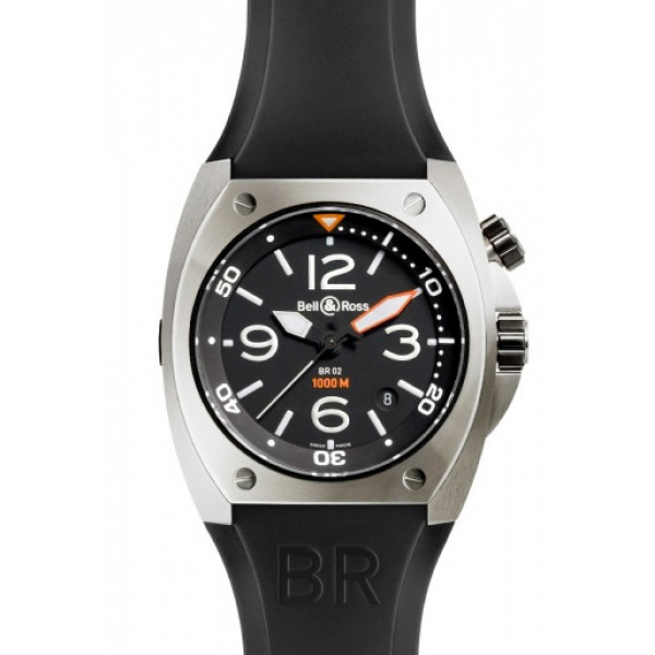 Bell and Ross BR 02 STEEL