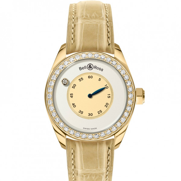 Bell & Ross watches MYSTERY DIAMOND YELLOW GOLD