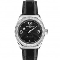 Bell & Ross watches MYSTERY DIAMOND BLACK 2 ROWS